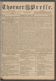 Thorner Presse 1888, Jg. VI, Nro. 36