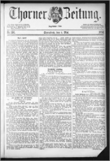 Thorner Zeitung 1884, Nro. 104