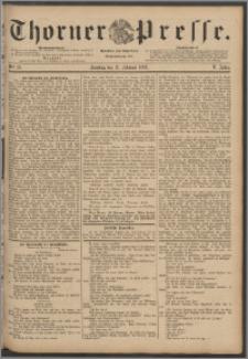 Thorner Presse 1888, Jg. VI, Nro. 37