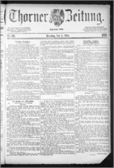 Thorner Zeitung 1884, Nro. 105 + Beilagenwerbung