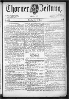 Thorner Zeitung 1884, Nro. 106