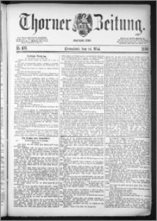 Thorner Zeitung 1884, Nro. 109