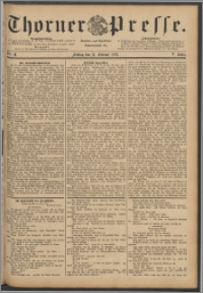 Thorner Presse 1888, Jg. VI, Nro. 41