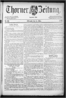 Thorner Zeitung 1884, Nro. 112