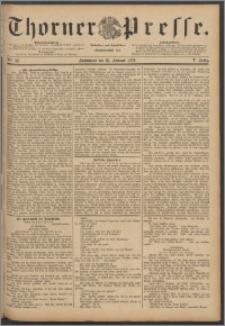 Thorner Presse 1888, Jg. VI, Nro. 42