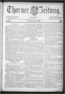 Thorner Zeitung 1884, Nro. 114
