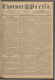 Thorner Presse 1888, Jg. VI, Nro. 44 + Humor u. Laune - probeblatt