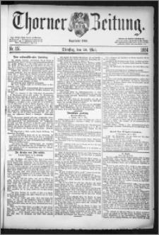 Thorner Zeitung 1884, Nro. 117