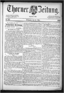 Thorner Zeitung 1884, Nro. 123