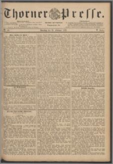 Thorner Presse 1888, Jg. VI, Nro. 49 + Beilage