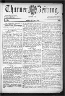 Thorner Zeitung 1884, Nro. 125