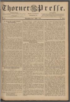 Thorner Presse 1888, Jg. VI, Nro. 52 + Beilagenwerbung