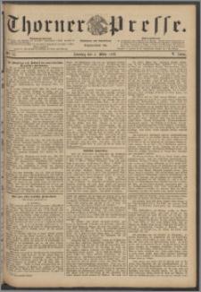 Thorner Presse 1888, Jg. VI, Nro. 55 + Beilage