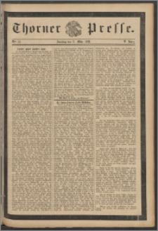 Thorner Presse 1888, Jg. VI, Nro. 61 + Beilage, Beilagenwerbung