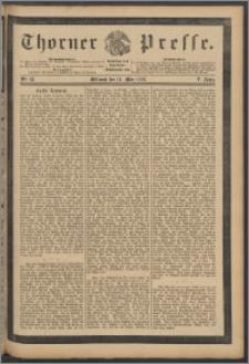 Thorner Presse 1888, Jg. VI, Nro. 63 + Beilage