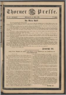 Thorner Presse 1888, Jg. VI, Nro. 64 + Beilage, Extrablatt