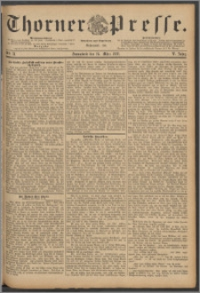 Thorner Presse 1888, Jg. VI, Nro. 71 + Beilagenwerbung