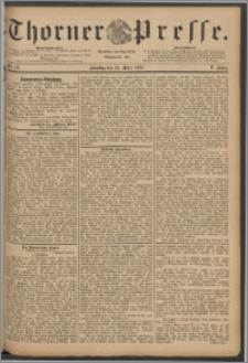 Thorner Presse 1888, Jg. VI, Nro. 72 + Beilage