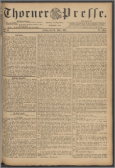 Thorner Presse 1888, Jg. VI, Nro. 76 + Beilagenwerbung