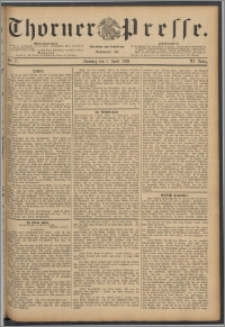 Thorner Presse 1888, Jg. VI, Nro. 77