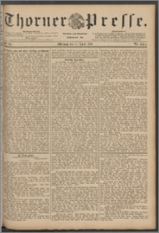Thorner Presse 1888, Jg. VI, Nro. 84