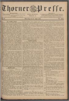 Thorner Presse 1888, Jg. VI, Nro. 85