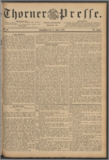 Thorner Presse 1888, Jg. VI, Nro. 87