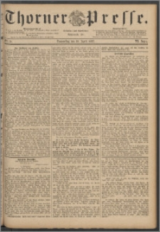 Thorner Presse 1888, Jg. VI, Nro. 91
