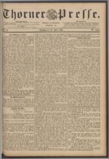 Thorner Presse 1888, Jg. VI, Nro. 99