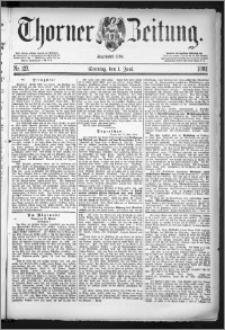 Thorner Zeitung 1884, Nro. 127