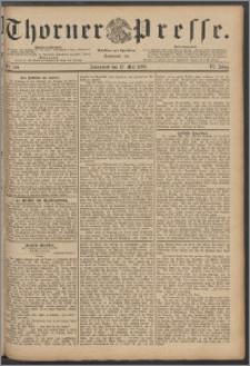 Thorner Presse 1888, Jg. VI, Nro. 109 + Extrablatt
