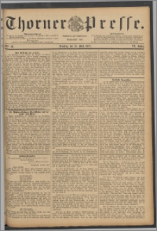 Thorner Presse 1888, Jg. VI, Nro. 111 + Extrablatt