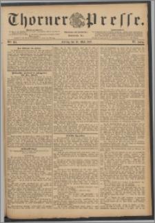 Thorner Presse 1888, Jg. VI, Nro. 114 + Extrablatt, Beilagenwerbung