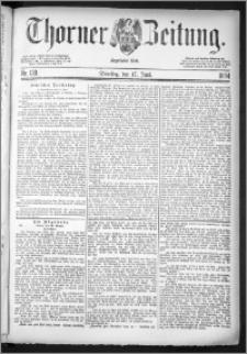 Thorner Zeitung 1884, Nro. 139