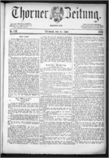 Thorner Zeitung 1884, Nro. 140