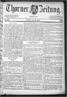 Thorner Zeitung 1884, Nro. 142