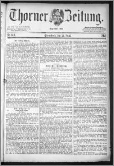 Thorner Zeitung 1884, Nro. 143