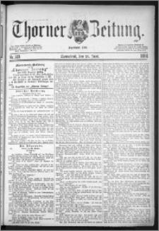 Thorner Zeitung 1884, Nro. 149