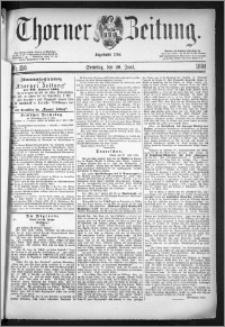 Thorner Zeitung 1884, Nro. 150 + Beilagenwerbung