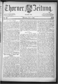 Thorner Zeitung 1884, Nro. 152