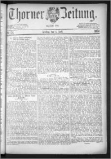 Thorner Zeitung 1884, Nro. 154