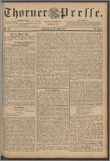 Thorner Presse 1888, Jg. VI, Nro. 123 + Humor und Laune - probeblatt