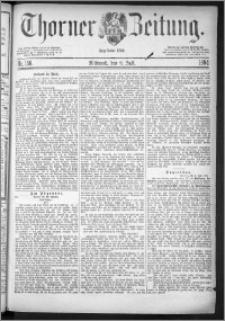Thorner Zeitung 1884, Nro. 158