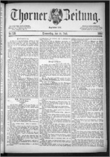 Thorner Zeitung 1884, Nro. 159