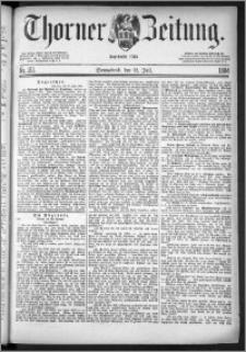 Thorner Zeitung 1884, Nro. 161