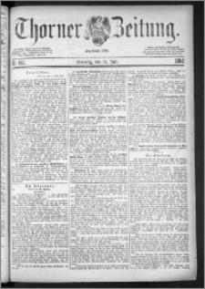 Thorner Zeitung 1884, Nro. 162 + Beilage