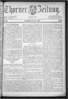 Thorner Zeitung 1884, Nro. 165