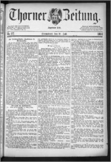 Thorner Zeitung 1884, Nro. 167
