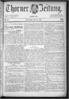 Thorner Zeitung 1884, Nro. 171