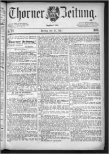 Thorner Zeitung 1884, Nro. 172